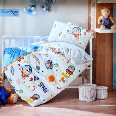 Постельное белье детское - Uray Oyunu Mavi