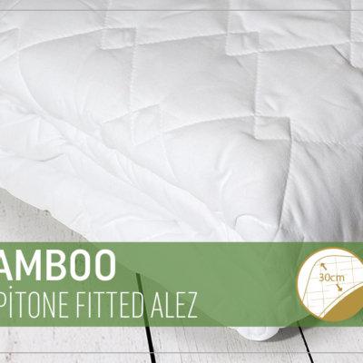 Бамбуковый стеганый чехол для матраса