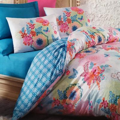 Постельное белье - Rainbow Mint - Cotton Box
